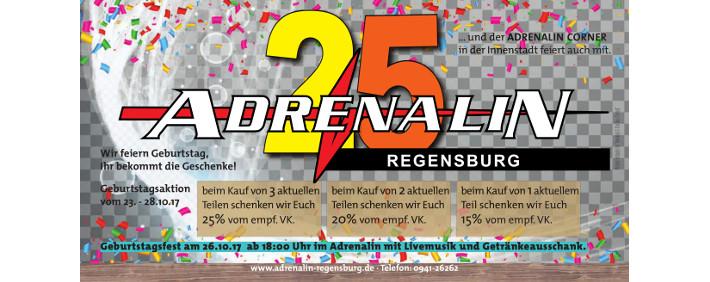 Adrenalin 25 Jahre