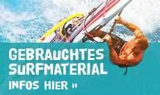 Gebrauchtes Surfmaterial 2020