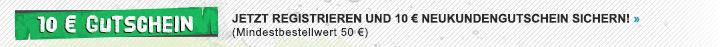 10 € Gutschein für Neukunden